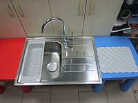 Мойка кухонная врезная Ikea  Boholmen 50х70х21 из нержавеющей стали  (Греция), фото 1