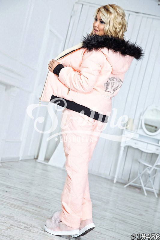 Тёплый женский костюм Оля 48-52 р