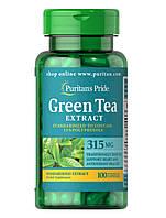 Комплекс с экстрактом зеленого чая Puritan's Pride Green Tea 315 мг (100 капс)