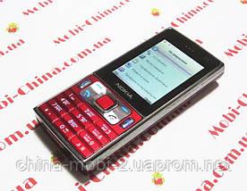 Копия Nokia P800 - dual sim с TV и проектором, red, фото 3