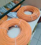 17м2 Тепла підлога 2430Вт під плитку 136м Woks тонкий нагрівальний кабель, фото 4