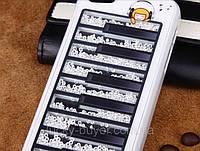 Чехлы для iPhone 4 4S Пианино Swarovski, фото 1