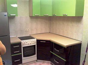 Кухня с комбинироваными фасадами 2