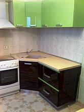 Кухня с комбинироваными фасадами 4