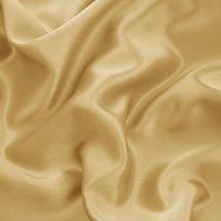 Креп-сатин - цвет светлое золото