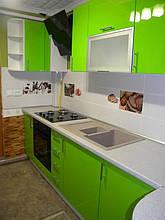 Кухня с фасадами МДФ покраска