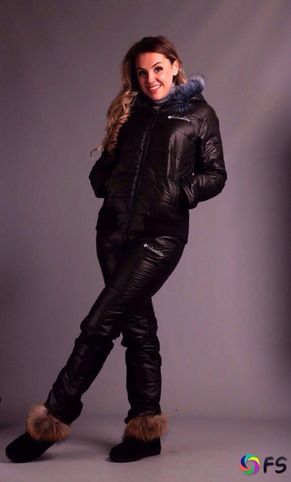 Тёплый женский костюм Карина батал (евро зима)