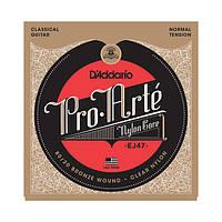 Струны для класической гитары D`ADDARIO EJ47 PRO-ARTE 80/20 BRONZE WOUND NORMAL TENSION