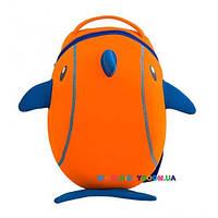 Рюкзак Nohoo Дельфин оранжевый
