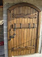 """Двери арочные """" Романовские"""" большие в погреб."""
