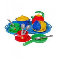 """Детская посудка Маринка 7, Набор игрушечной посуды """"Маринка 7"""""""