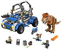 LEGO Jurassic World Преследование Тираннозавра T. Rex Tracker 75918