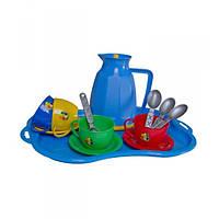"""Детская посудка Маринка 9, Набор игрушечной посуды """"Маринка 9"""""""