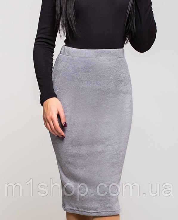 Теплая юбка-карандаш | Ангора leo - « m1shop »женская одежда в Харькове