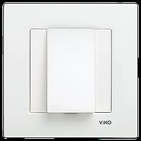 Заглушка для вывода провода Viko Karre белый