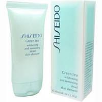 Пилинг очищающий для лица Shiseido Green Tea