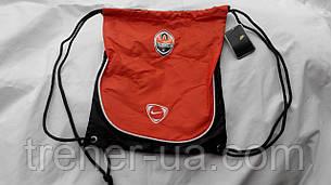 Рюкзак для взуття в стилі NIKE Шахтар помаранчево-чорний