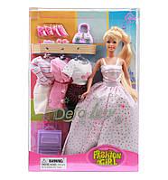 Кукла с нарядами и аксессуарами 8012