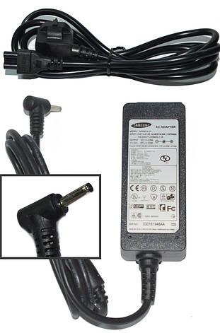 Блок питания для ноутбука Samsung 12V 3.33A (3.0*1.0) + Сетевой кабель, фото 2