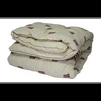 Одеяло двуспальное Караван, бязь, шерстипон (50% шерсти) 400 г/м2,   180х210