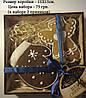 Коробка для пряников 150х150х30 с прозрачной крышкой, фото 3