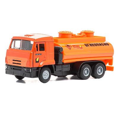 Бензовоз детский грузовик Камаз музыкальный