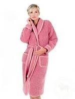 """Халаты из натуральной овечий шерсти  """"ALWERO"""", розовый"""