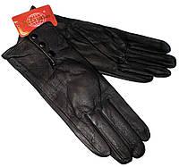 Перчатки кожаные на флисе  8.5