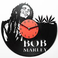 Виниловые часы Bob Marley