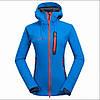 Треккинговая куртка женская Mammut SoftShell Coldproof blue XL