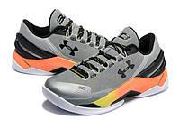 Баскетбольные кроссовки Under Armour Curry 2 Low Iron Sharpens Iron, фото 1