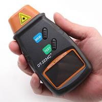 Цифровой лазерный тахометр DT-2234C+, фото 1