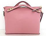 Стильная женская сумка. Эко-кожа. Черная, фото 8