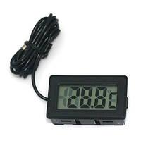 Цифровой LCD термометр (-50 °C ~ + 70 °C), фото 1