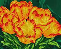 Схема для вышивания бисером Тюльпаны АК3-121