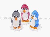 Сахарные фигурки - Пингвинчики - h45 мм
