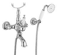 Смеситель в винтажном стиле для ванны Италия Bugnatese Oxford 6302