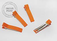 Уточка 5см лента репс оранжевая