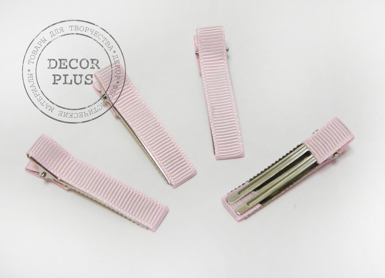 Уточка 5см лента репс светло-розовая