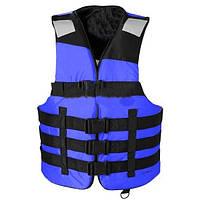 """Спасательный жилет """"AIR NEW BLUE"""" (РЫБАЛКА И ОХОТА И СПОРТ), товары для спасения на воде, универсальный"""