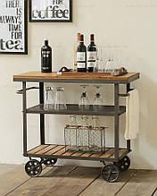 Cервировочный столик на колесиках (арт. MS-KBL-402)