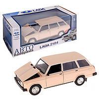 Машинка ВАЗ 2104 коллекционная 1:24 масштабная модель