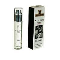 Мини-парфюм с феромонами Chanel Allure Homme Sport men, 45ml