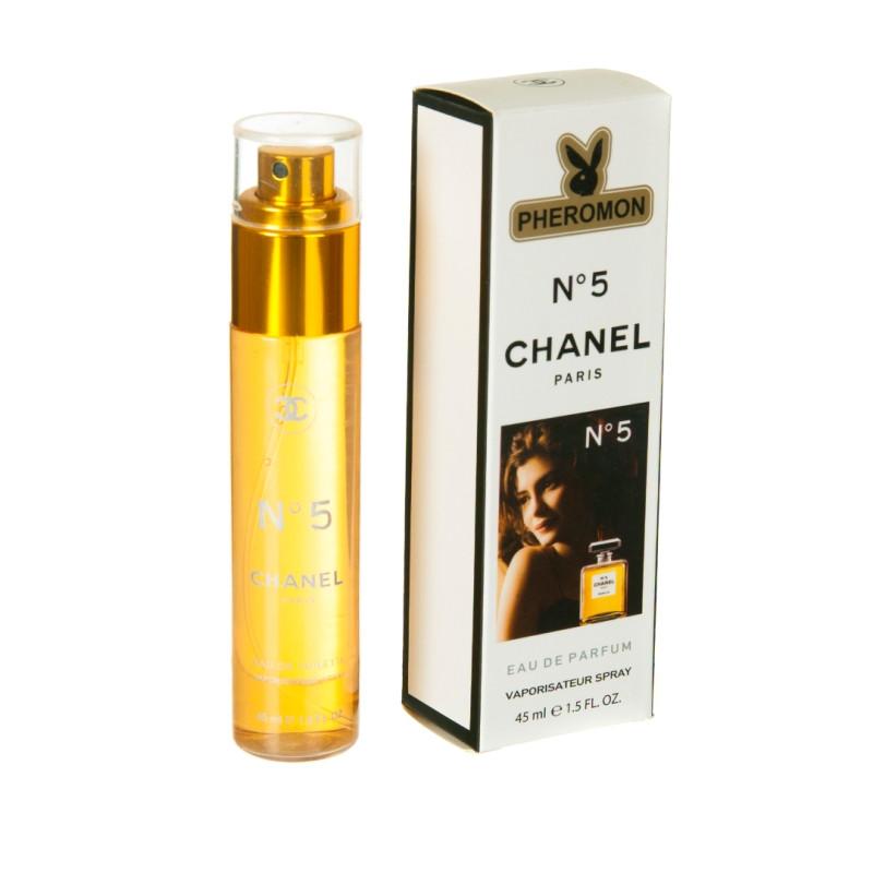 мини парфюм с феромонами Chanel Chanel 5 45 Ml реплика продажа