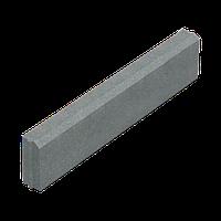 Поребрик (бордюр) 6 см серый, 100х20х6 см