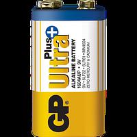 Батарейка GP Ultra Plus Alkaline 6LF22 (Крона), 9V, щелочная
