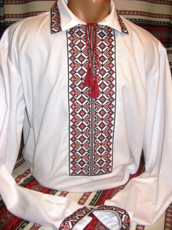 Мужская вышиванка (модель 58)