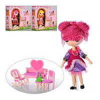 Кукла LALALOOPSY шарнирная с мебелью DH2057-1-2-3