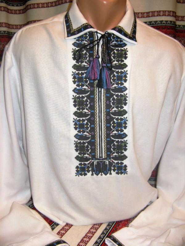 Мужская вышиванка (модель 57)