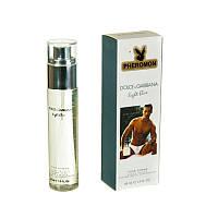 Мини-парфюм с феромонами Dolce&Gabbana Light Blue pour homme, 45 ml